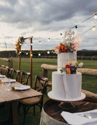 Maleny wedding cake 3
