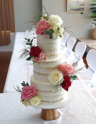 Sunshine Coast Hinterland wedding cake